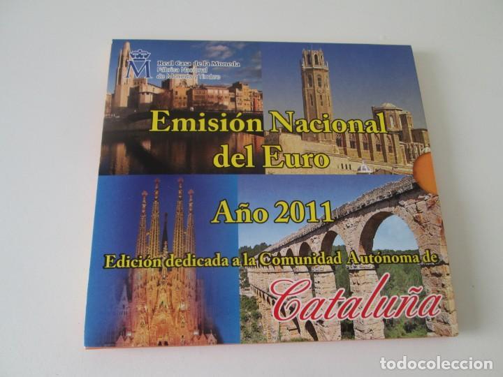 ESPAÑA * EMISION NACIONAL DEL EURO * 2011 * CATALUÑA ** TIN (Numismática - España Modernas y Contemporáneas - Juan Carlos I)