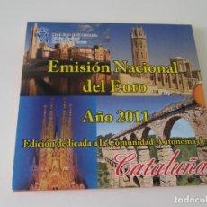 Monedas Juan Carlos I: ESPAÑA * EMISION NACIONAL DEL EURO * 2011 * CATALUÑA ** TIN. Lote 149710242