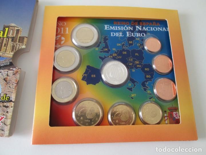 Monedas Juan Carlos I: ESPAÑA * EMISION NACIONAL DEL EURO * 2011 * CATALUÑA ** TIN - Foto 2 - 149710242