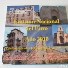 Monedas Juan Carlos I: ESPAÑA * EMISION NACIONAL DEL EURO * 2010 * CASTILLA LA MANCHA ** TIN. Lote 149710710