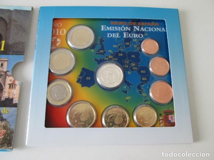 Monedas Juan Carlos I: ESPAÑA * EMISION NACIONAL DEL EURO * 2010 * CASTILLA LA MANCHA ** TIN - Foto 2 - 149710710