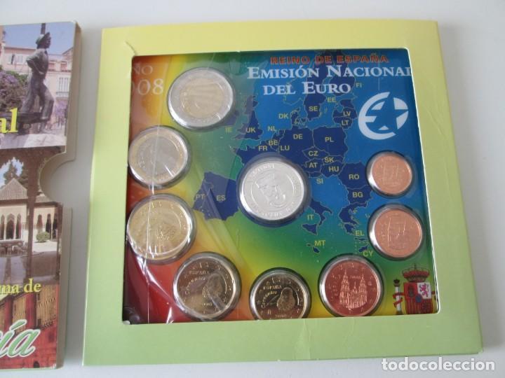 Monedas Juan Carlos I: ESPAÑA * EMISION NACIONAL DEL EURO * 2008 * ANDALUCIA ** TI - Foto 2 - 149711194