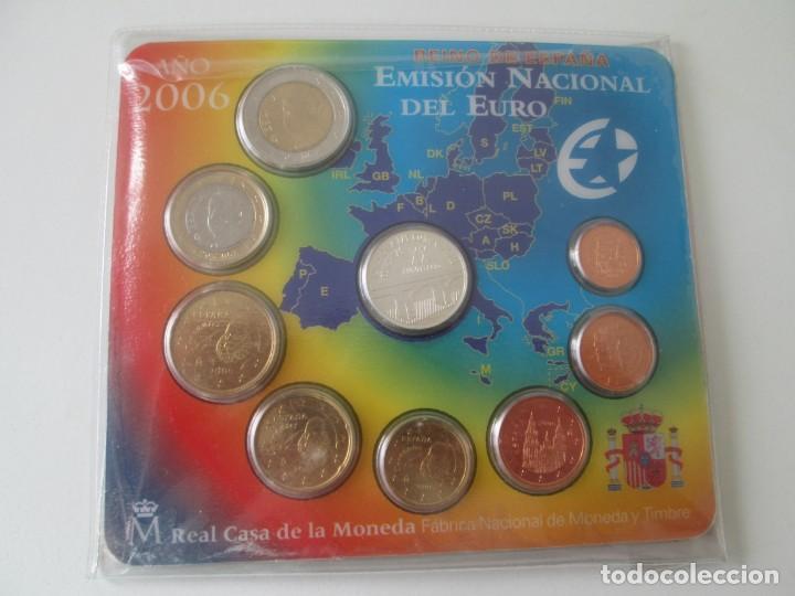 ESPAÑA * CARTERA EMISION NACIONAL DEL EURO * 2006 ** TIN (Numismática - España Modernas y Contemporáneas - Juan Carlos I)