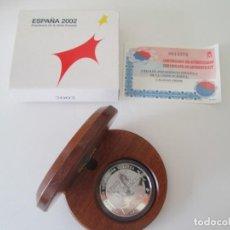 Monedas Juan Carlos I: FNMT * 10 EUROS 2002 *PRESIDENCIA DE LA UNION EUROPEA * PLATA ** TIN. Lote 149739322