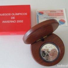 Monedas Juan Carlos I: FNMT * 10 EUROS 2002 * JUEGOS OLIMPICOS DE INVIERNO * PLATA TIN. Lote 149755050