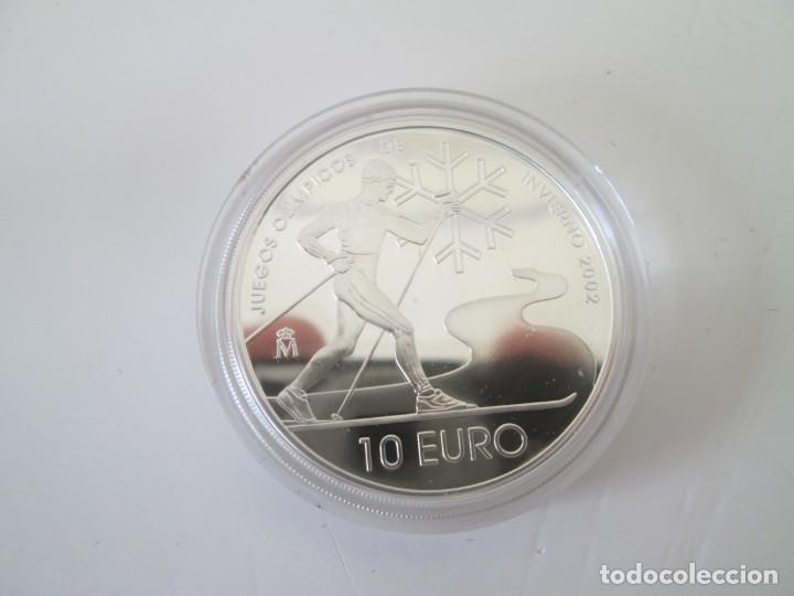 Monedas Juan Carlos I: FNMT * 10 EUROS 2002 * JUEGOS OLIMPICOS DE INVIERNO * PLATA TIN - Foto 2 - 149755050