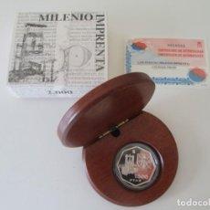 Monedas Juan Carlos I: FNMT * 1500 PESETAS 2000 * MILENIO - IMPRENTA * PLATA TIN. Lote 149756738