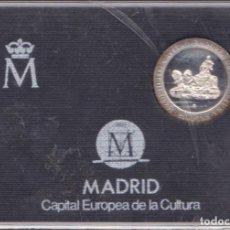 Monedas Juan Carlos I: ESTUCHE FNMT CON MEDALLA 200 PESETAS 1992 ( MADRID CAPITAL CULTURA EUROPEA ) PLATA. Lote 149981446