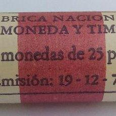 Monedas Juan Carlos I: CARTUCHO (40 MONEDAS) - 25 PESETAS 1980*80 - FNMT - PERFECTO. Lote 150757666