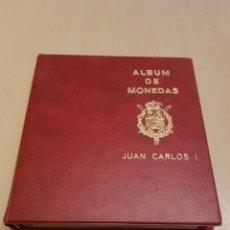 Monedas Juan Carlos I: ALBUM DE MONEDAS JUAN CARLOS I GRAN ESTADO DE CONSERVACIÓN. MONEDAS EN CIRCULACIÓN.COMPLETO.. Lote 151163442