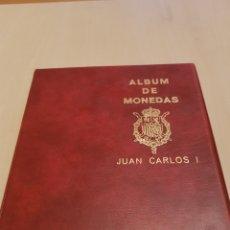 Monedas Juan Carlos I: ALBUM DE MONEDAS JUAN CARLOS I GRAN ESTADO DE CONSERVACIÓN.MONEDAS EN CIRCULACIÓN.COMPLETO.. Lote 151164181