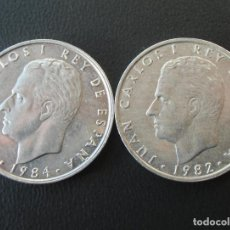 Monedas Juan Carlos I: JUAN CARLOS I, LOTE PAREJA 2 PESETAS 1982 Y 1984. Lote 151598986