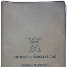 Monedas Juan Carlos I: CARTERA 1975 *76 MADRID. PRUEBAS NUMISMÁTICAS. SERIE COMPLETA DE JUAN CARLOS I. Lote 152060930