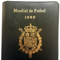 Monedas Juan Carlos I: CARTERA 1980 *80 MADRID. MUNDIAL DE FUTBOL 1982. SERIE COMPLETA. Lote 152060962