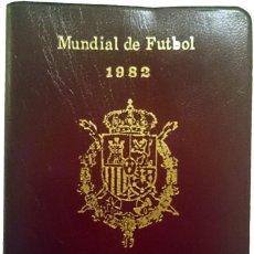 Monedas Juan Carlos I: CARTERA 1980 *80 MADRID. MUNDIAL DE FUTBOL 1982. SERIE COMPLETA. Lote 152061002