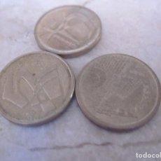 Monedas Juan Carlos I: 3 MONEDAS 5 PESETAS 1990 Y 1992. Lote 154059522