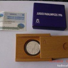Monedas Juan Carlos I: ESPAÑA 1000 PESETAS PLATA 1996 PROOF JUEGOS PARALIMPICOS ATLANTA 96. Lote 184184290