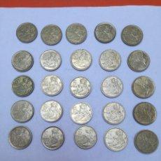 Monedas Juan Carlos I: LOTE DE 25 MONEDAS DE 5 PESETAS DE JUAN CARLOS I, BALEARES-MENORCA, DE 1997.. Lote 156100342