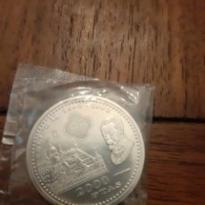 Monedas Juan Carlos I: MONEDA 2000 PESETAS PLATA SC. Lote 157131652