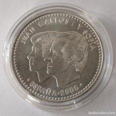 Monedas Juan Carlos I: MONEDA DE PLATA DE 12 EUROS 2005. EL QUIJOTE..18 GRAMOS. ENCAPSULADA..VER FOTOS.. Lote 157397586