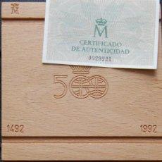 Monedas Juan Carlos I: ESPAÑA. 1989. QUINTO CENTENARIO. SERIE I. 10000 PESETAS. PLATA PROOF. Lote 157724254