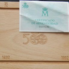 Monedas Juan Carlos I: ESPAÑA. 1991. QUINTO CENTENARIO. SERIE III. 10000 PESETAS. PLATA PROOF. Lote 157724830