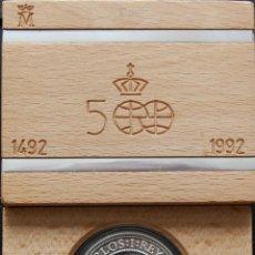 Monedas Juan Carlos I: ESPAÑA. 1991. QUINTO CENTENARIO. III SERIE. 5000 PESETAS. PLATA PROOF. Lote 157725610