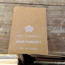 Monedas Juan Carlos I: CARTERA SERIE NUMISMÁTICAS-ESPAÑA-1978-ORIGINALES-JUAN CARLOS I-NUEVAS-.. Lote 158149562