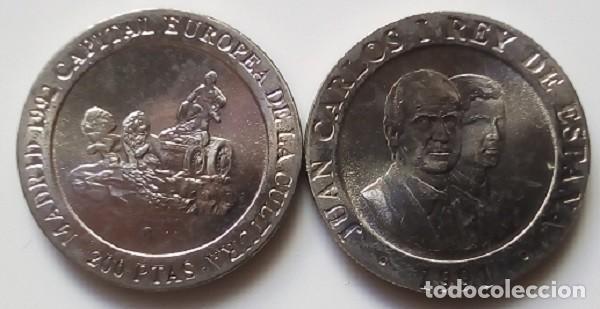 ESPAÑA - 200 PESETAS DE 1991 - SIN CIRCULAR SACADA DE CARTUCHO ORIGINAL, SI QUIERES, ENCARTONADA (Numismática - España Modernas y Contemporáneas - Juan Carlos I)