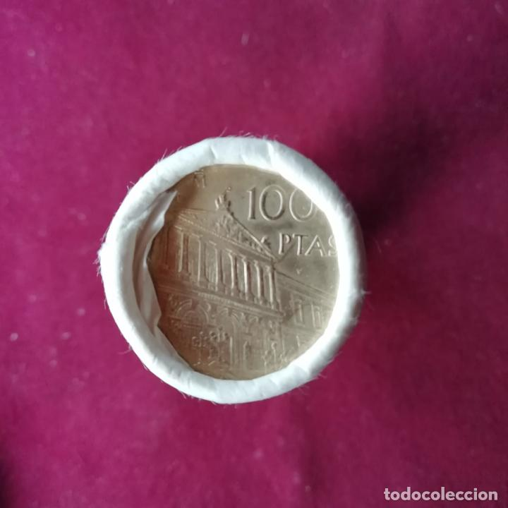 Monedas Juan Carlos I: Cartucho FMNT SC de 25 monedas de 100 pesetas de 1996. Precio unidad. 2 disponibles - Foto 2 - 198518003