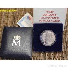 Monedas Juan Carlos I: 2002 MONEDA DE ESPAÑA DE 10 EUROS PLATA RAFAEL ALBERTI. JUAN CARLOS I OFICIAL FNMT. Lote 36821649