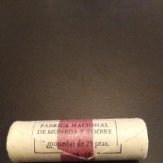 Monedas Juan Carlos I: CARTUCHO DE 40 MONEDAS DE 25 PESETAS 1975 ESTRELLA *77. 40 MONEDAS SC. Lote 183554898