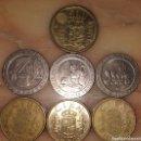 Monedas Juan Carlos I: 1400 PESETAS EN MONEDAS DE 500 200 Y 100. Lote 160541498