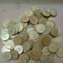 Monedas Juan Carlos I: LOTE DE 130 MONEDAS 1 PESETA JUAN CARLOS. Lote 160729770