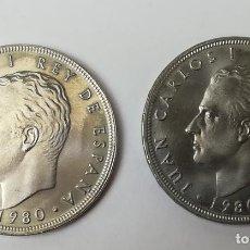 Monedas Juan Carlos I: 2 MONEDAS DE 100 PESETAS. JUAN CARLOS I. ESPAÑA82. ESPAÑA 1980. Lote 160940774