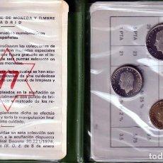 Monedas Juan Carlos I: CARTERA PRUEBAS NUMISMATICAS.J,.CARLOS I. ESPAÑA 1975, * 77. CALIDAD PROOF. S/C . Lote 161169194