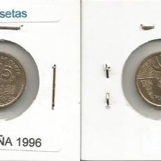 Monedas Juan Carlos I: ESPAÑA 1996 - 5 PESETAS - KM 960 - CIRCULADA. Lote 161256082