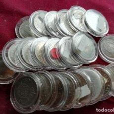 Monedas Juan Carlos I: 50 PESETAS NUEVAS SC. LOTE DE 22 MONEDAS. ENCAPSULADAS. HASTA 1983. NO DEL MUNDIAL. Lote 161287478