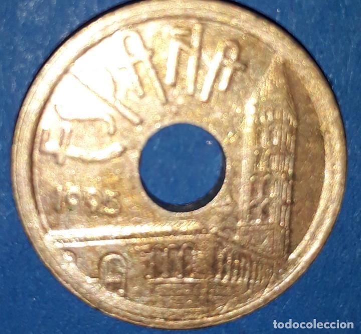 Monedas Juan Carlos I: 25 PESETAS - CASTILLA/LEON - 1993 - Foto 2 - 161594210