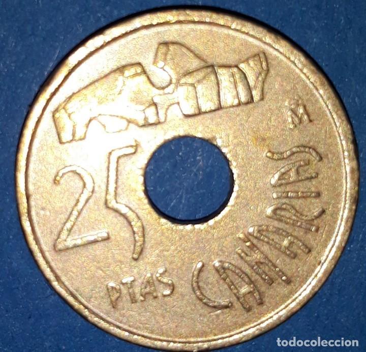 25 PESETAS - CANARIAS 1994 (Numismática - España Modernas y Contemporáneas - Juan Carlos I)