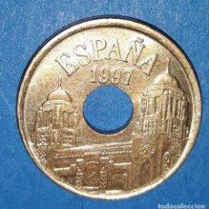 Monedas Juan Carlos I: 25 PESETAS - MELILLA - 1997. Lote 161594922