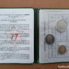 Monedas Juan Carlos I: MONEDAS PRUEBAS NUMISMATICAS 1977 25, 5 Y UNA PESETA. Lote 161664410