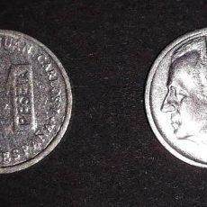 Monedas Juan Carlos I: 1 PESETA MINI 1997. Lote 161708614
