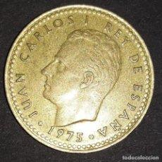 Monedas Juan Carlos I: 1 PESETA REY - 1975 / *77. Lote 161709266