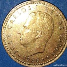 Monedas Juan Carlos I: 1 PESETAS REY - 1980 / 82*. Lote 161768006