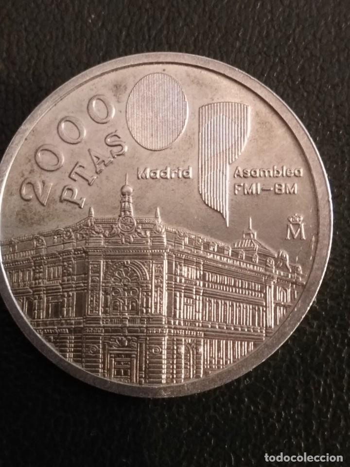 Monedas Juan Carlos I: Moneda de 2000 pts. de Juan Carlos I en plata - Foto 4 - 163733426