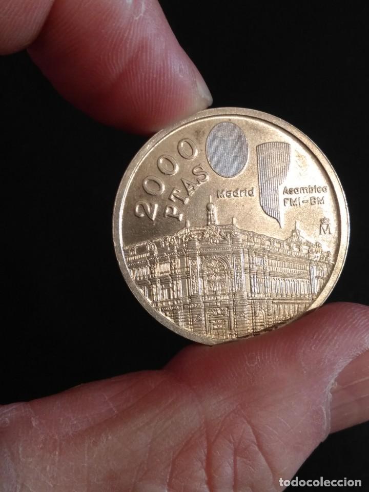 Monedas Juan Carlos I: Moneda de 2000 pts. de Juan Carlos I en plata - Foto 5 - 163733426