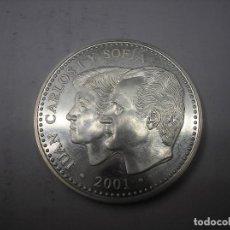 Monedas Juan Carlos I: 2000 PESETAS DE PLATA DEL AÑO 2000. REPRODUCCIÓN DE LA 1ª PESETA DE 1869. REY JUAN CARLOS I. Lote 165317686
