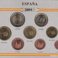 Monedas Juan Carlos I: 2004 MONEDAS EURO DE CURSO LEGAL ESPAÑA - SC. Lote 165993082