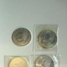 Monedas Juan Carlos I: MONEDAS DE PLATA DE 2000 PESETAS JUAN CARLOS I DE 1994, 1995, 1996 Y 1997. Lote 165996674